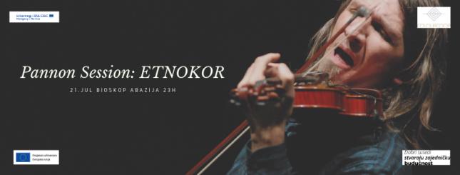 """Koncert: """"Pannon Session - Etnokor"""""""