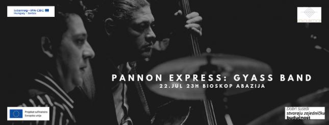 Koncert: Pannon express - Gyass band