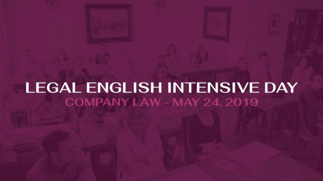 Legal English intensive day