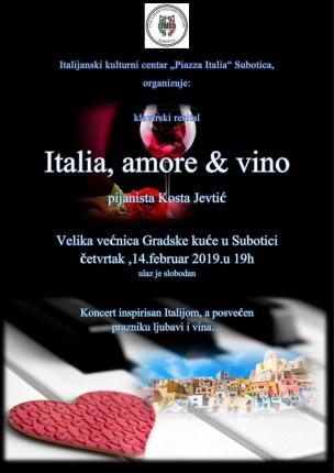 Koncert: Italia, amore & vino