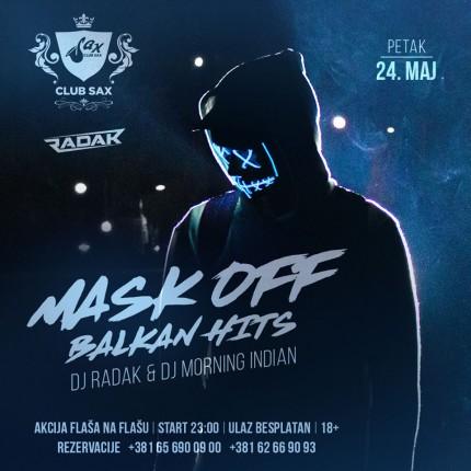 Mask off - Balkan hits