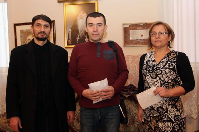 Uručena donacija za Aleksandra Šešliju