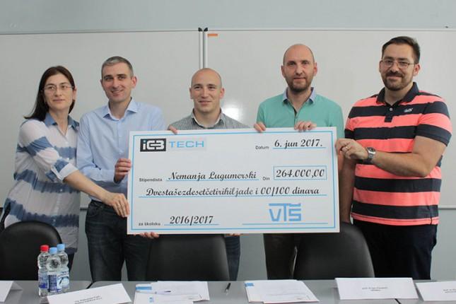 VTŠ i kompanija ICBTech potpisali ugovor o stipendiranju studenata