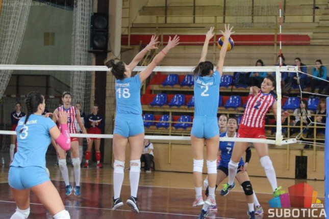 Odbojka (Ž): Spartak vezao dve pobede - protiv TENT-a i Partizana