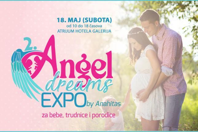 """""""Angel dreams"""" sajam za bebe, trudnice i porodice 18. maja u hotelu Galerija"""