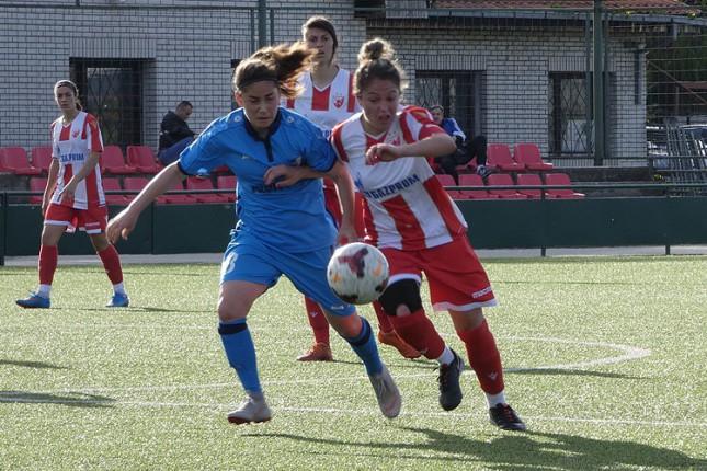 Fudbal (Ž): Spartak igrao nerešeno sa Crvenom zvezdom