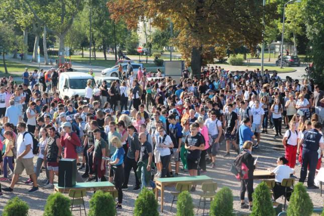 """Rekordan broj Subotičana učestvovao u akciji """"Dan pešačenja 2019"""""""