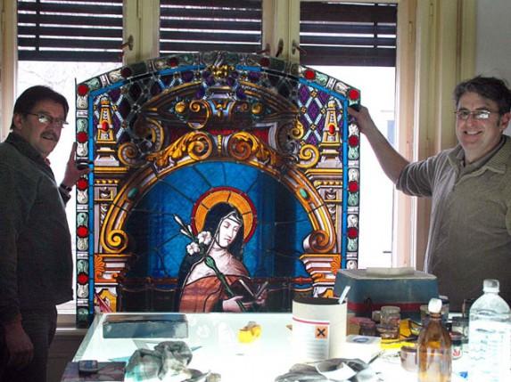 Subotičani napravili najveću vitraž kupolu