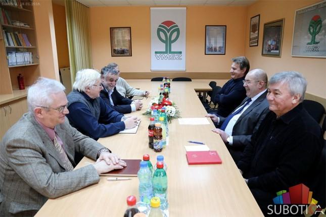 Održan sastanak predstavnika mađarskih partija