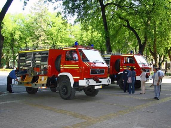 Minhen pomaže subotičke vatrogasce