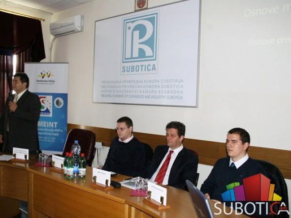 SMENIT - IPA projekat RPK Subotica