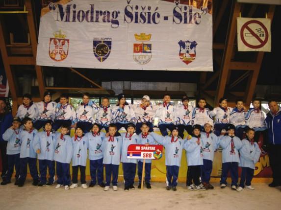 """Učešće mladih hokejaša Spartaka na memorijalu """"ŠILE 2013"""""""