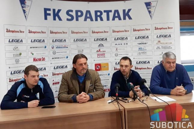 Fudbal: Počele pripreme Spartaka za nastavak šampionata