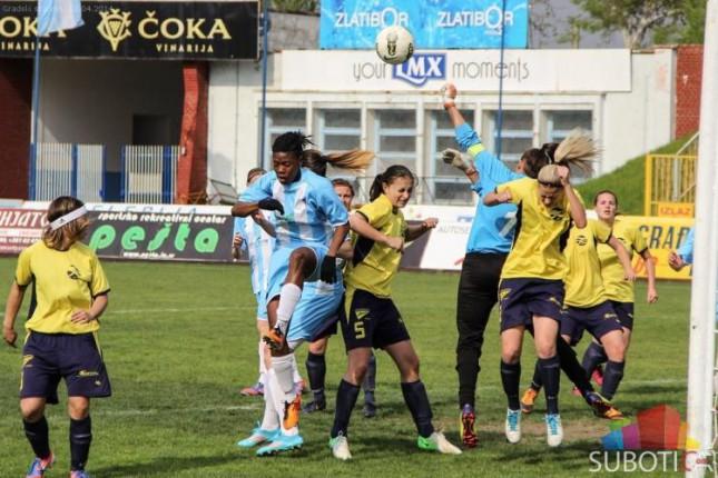 Fudbalerke Spartaka pobedile ekipu Novog Bečeja (7:0)