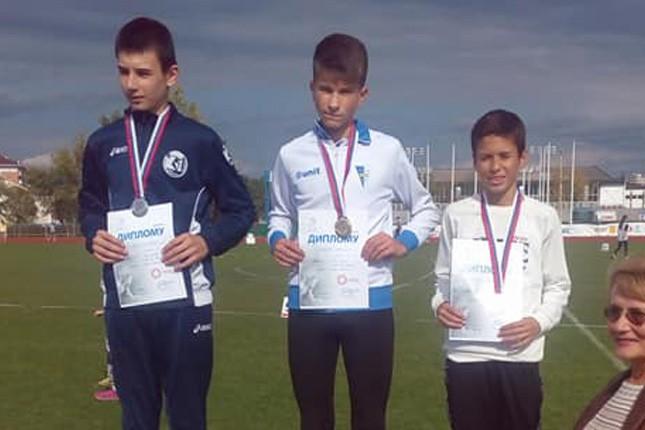 Uspešan nastup najmlađih atletičara Spartaka na Prvenstvu Srbije u Kruševcu