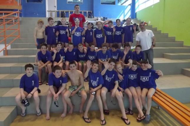 Odličan nastup plivača Spartaka na Uskršnjem mitingu u Novom Sadu
