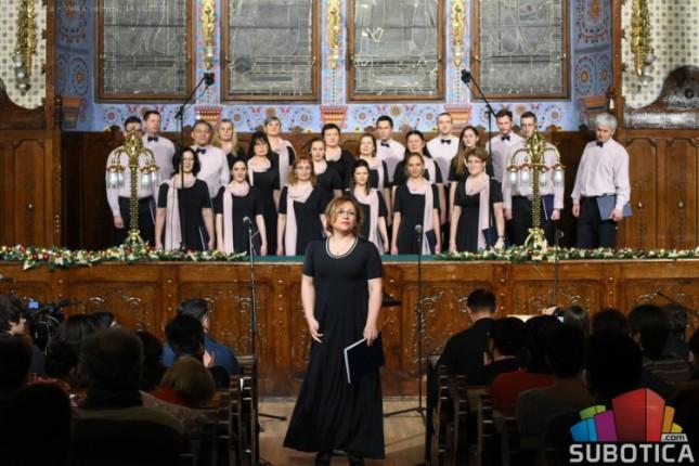 """Novogodišnji koncert Crkvenog hora """"Sveti Roman Melod"""""""