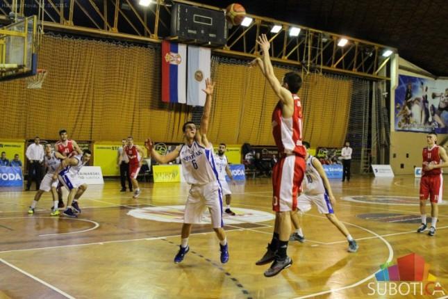 Košarkaši Spartaka poraženi od Beovuka (81:75)