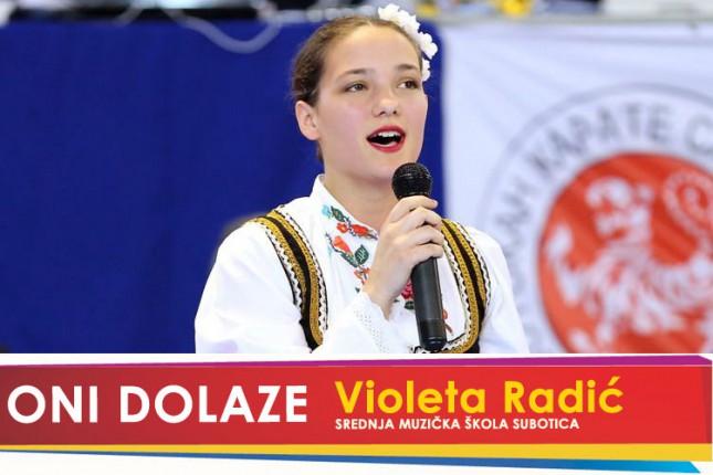 Oni dolaze: Violeta Radić, učenica Srednje Muzičke škole