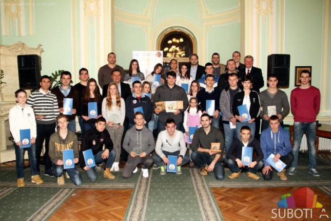 "Dodeljene medalje i plakete najboljim sportistima Subotice u akciji ""Medalja Lajoša Vermeša"""