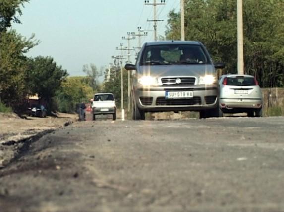 Asfalt u ulici Proleterskih brigada