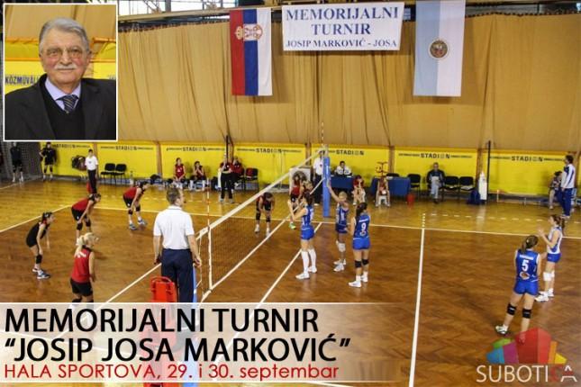 """Odbojka (Ž): Memorijal """"Josip Josa Marković"""" u petak i subotu u Hali sportova"""