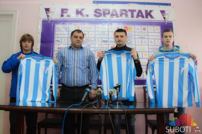 """FK """"Spartak"""" predstavio pojačanja i najavio nastavak sezone u Jelen Super ligi"""