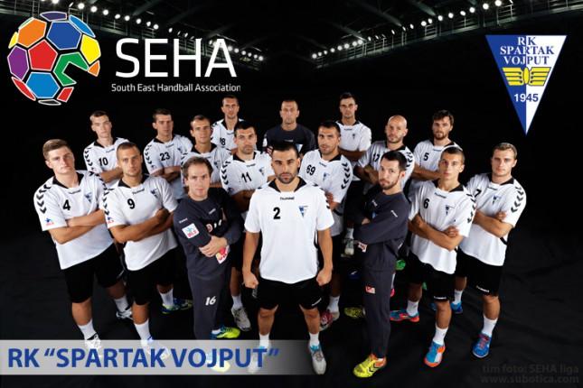 Rukometaši Spartaka sutra dočekuju Vardar u SEHA ligi
