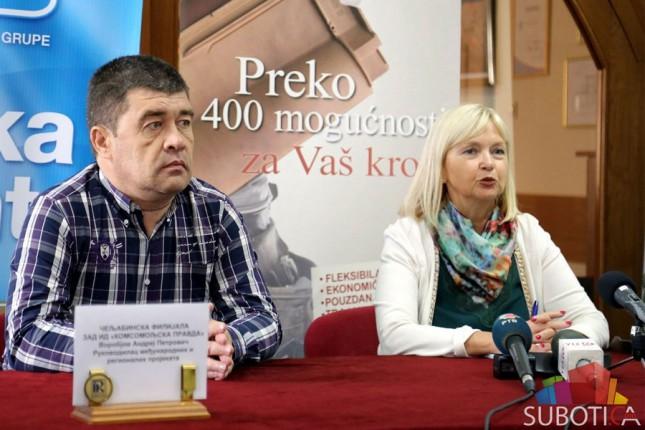 Privrednici iz Rusije u poseti Subotici
