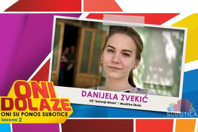 """Oni dolaze: Danijela Zvekić, maturantkinja OŠ """"Sečenji Ištvan"""" i učenica Muzičke škole"""
