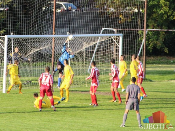 """FK """"Bačka 1901"""" i FK """"Palić"""" igrali nerešeno sa svojim protivnicima u okviru 8. kola Srpske lige Vojvodina"""