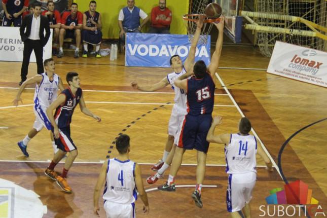 Košarkaši Spartaka poraženi od Vojvodine (74:85)