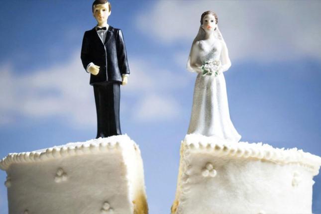 Razlika između sklopljenih i razvedenih brakova sve manja