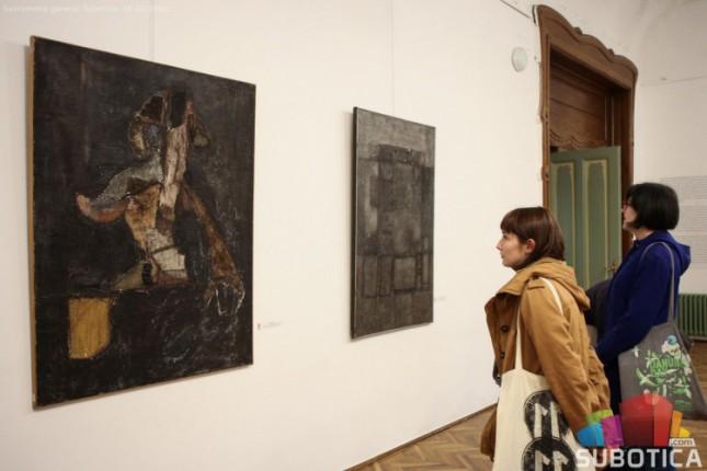 """Otvorena izložba """"U korak sa vremenom: razvoj ideje o savremenosti u kolekciji Savremene galerije Subotica"""""""