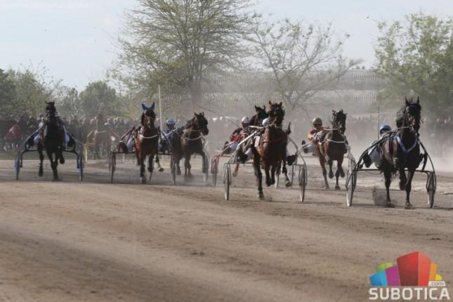 "Konjičke trke: ""Fliger derbi"" glavna trka drugog kasačkog dana na Gradskom hipodromu"