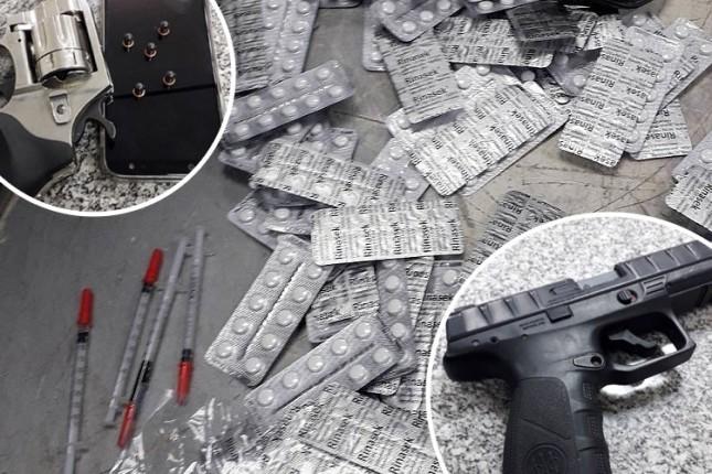 Putnici iz autobusa krijumčarili oružje i lekove