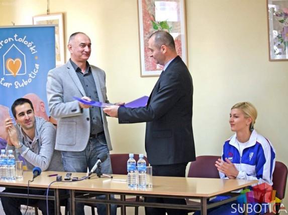 "Potpisan sporazum između ŽOK ""Spartak"" i Gerontološkog centra Subotica"