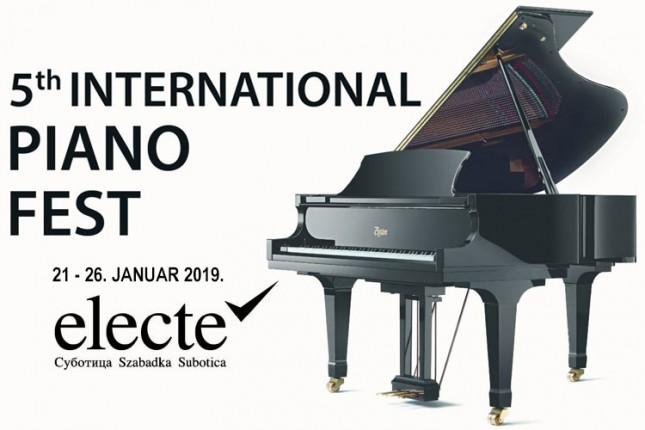 """Drugi deo """"Piano fest-a"""" od 21. do 26. januara"""