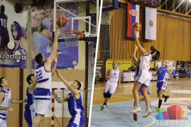 Poraz košarkaša Spartaka, košarkašice slavile