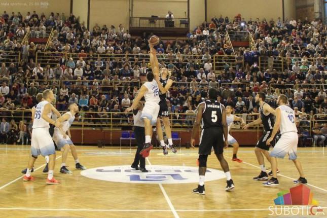 Košarkaši Spartaka u tesnom meču poraženi od Partizana (89:92)