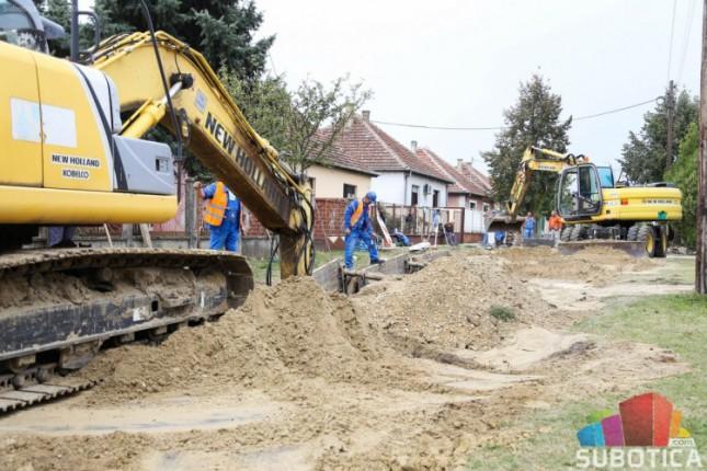 Palićani dobili prve kanalizacione priključke