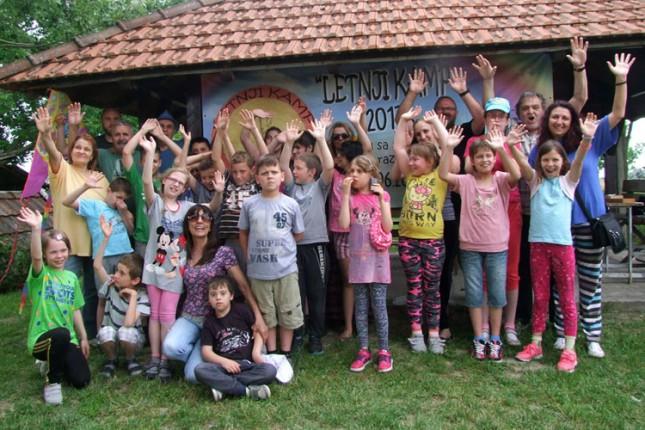 Održan Letnji kamp za decu sa smetnjama u razvoju