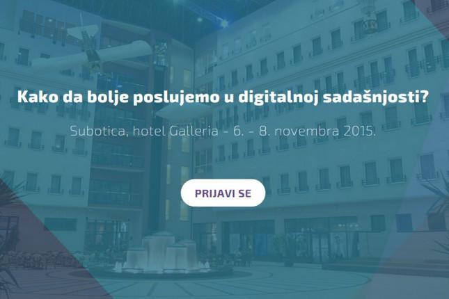 Webiz - poslovna edukacija o primeni interneta u novembru u hotelu Galleria