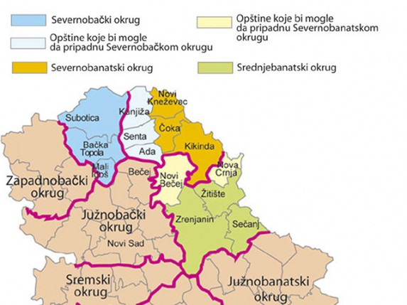 mapa srbije i madjarske Mađarske stranke prekrajaju mape | (Vesti   24.01.2013) Subotica mapa srbije i madjarske