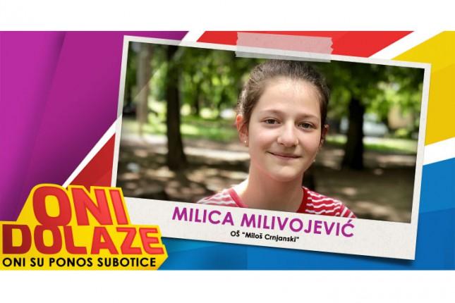 """Oni dolaze: Milica Milivojević, učenica OŠ """"Miloš Crnjanski"""""""