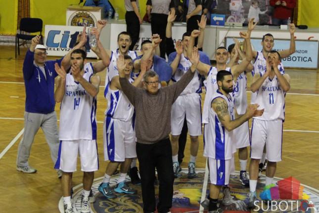 Košarkaši Spartaka posle pobede nad Vojvodinom na korak od Prve lige Srbije