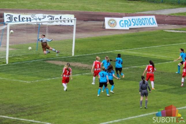Fudbalerke Spartaka pobedile LASK Crvenu zvezdu (2:0)