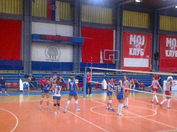Poraz odbojkašica Spartaka u prvoj utakmici finala playoff-a