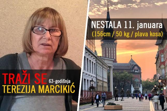 Nestala 63-godišnja Terezija Marcikić