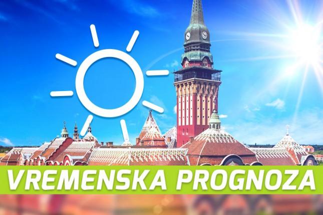 Vremenska prognoza za 20. maj (ponedeljak)